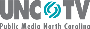 unc-tv public media north carolina grey and teal logo